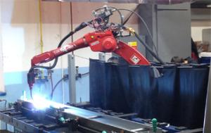 Svejse robot CNC-maskine.