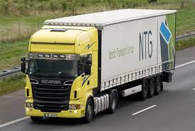 Transport af vores produkter til blandt andet vores referencer.